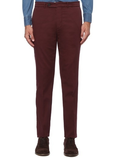 Brunello Cucinelli Pantolon Bordo